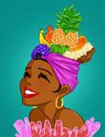 Tropical-fruit-hat