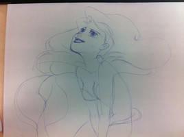 ariel sketch by mosuga
