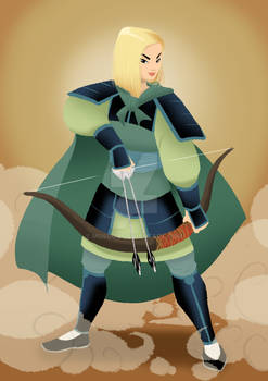 Mulan - cosplay