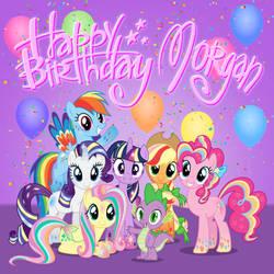 Morgan's birthday cake