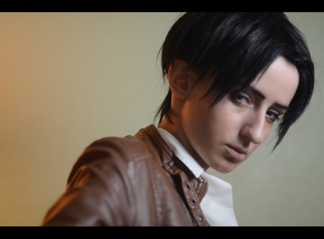 Shingeki no Kyojin: Levi/Rivaille test by Green-Makakas