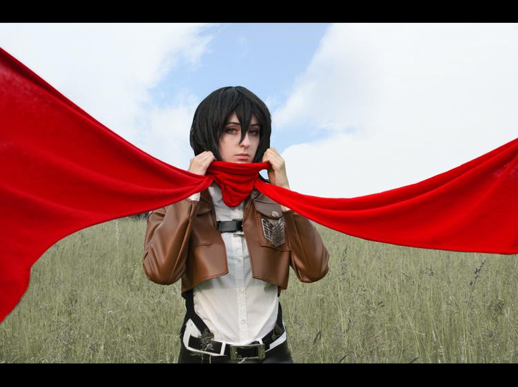 Shingeki no Kyojin: Mikasa Ackerman by Green-Makakas
