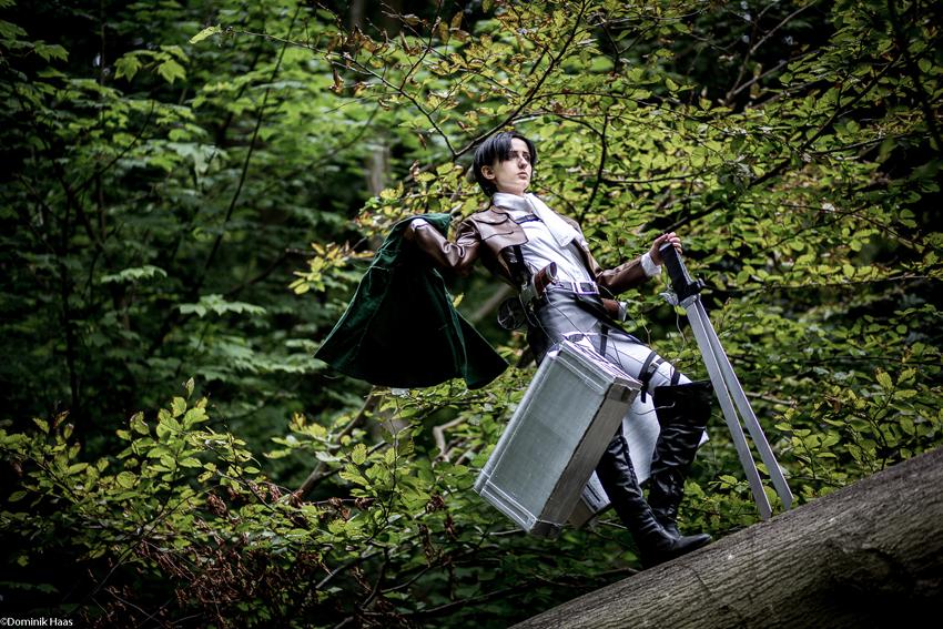 Shingeki no Kyojin: Soldier by Green-Makakas