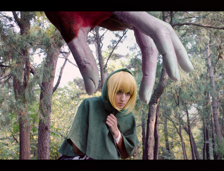 Shingeki no Kyojin: Hello little Armin by Green-Makakas