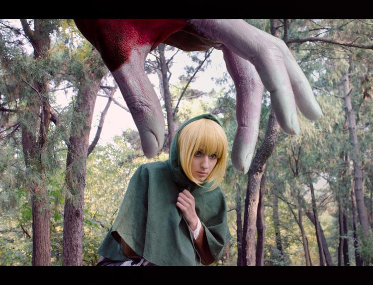 Shingeki no Kyojin: Hello little Armin