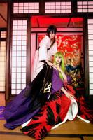 Code Geass: Lelouch/C.C. CLAMP kimonos by Green-Makakas