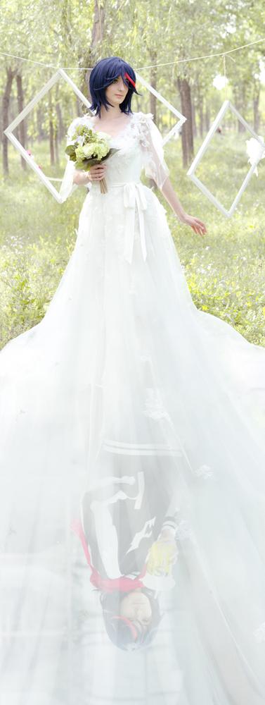 Kill la Kill: Ryuko Matoi 3 (wedding/ending vers) by Green-Makakas