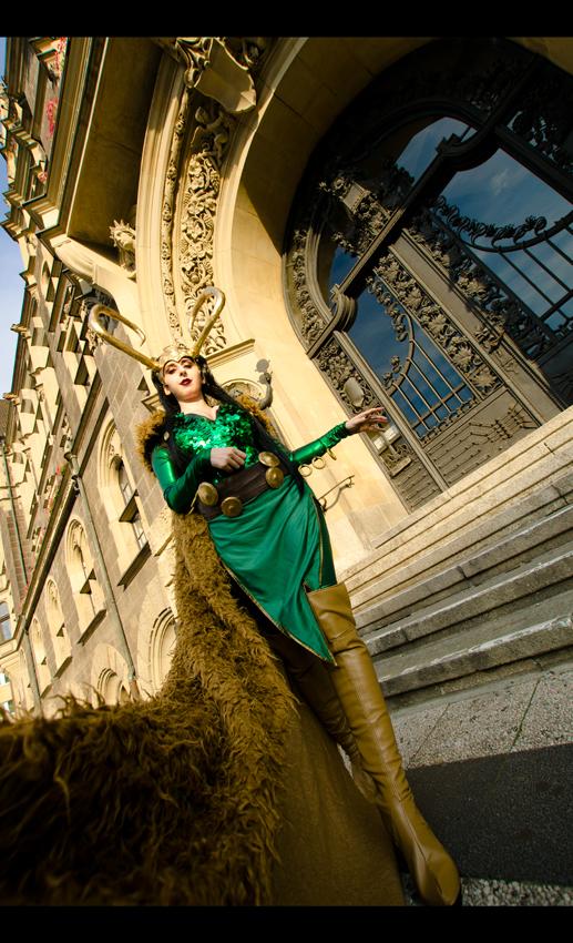 Marvel: Lady Loki by Green-Makakas