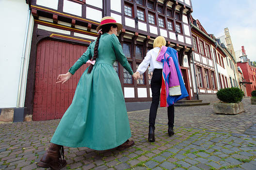 Howls Moving Castle: Howl and Sophie 2