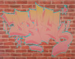 Graffiti pixel art