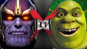Thanos VS Shrek I DBX