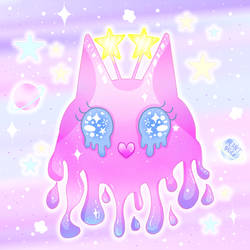 Kawaii Alien Gloop Pet