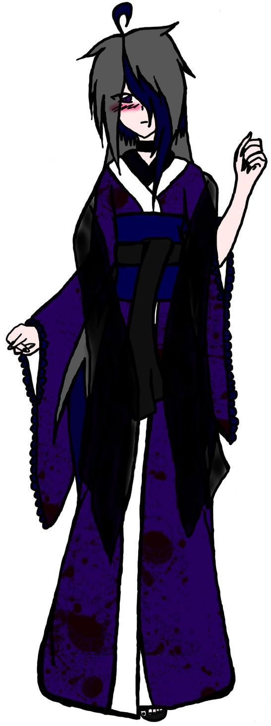 Blake's official Kimono design by IXTokyoDarknessXI