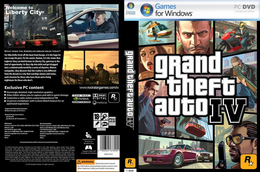 Descarga GTA IV Grand Theft Auto IV 1 Link 100Mb | SUPERCOMPRIMIDO Extraer y Listo WORKING