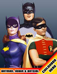 Childhood Hero - Bat trio