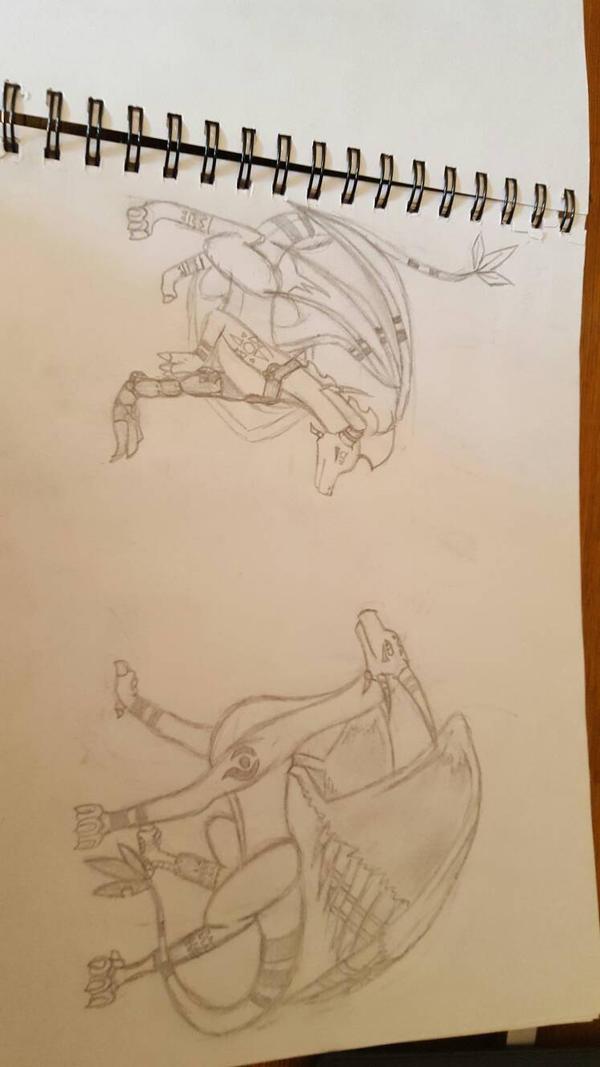 Just some scraps - dragon designs by spyroexpert