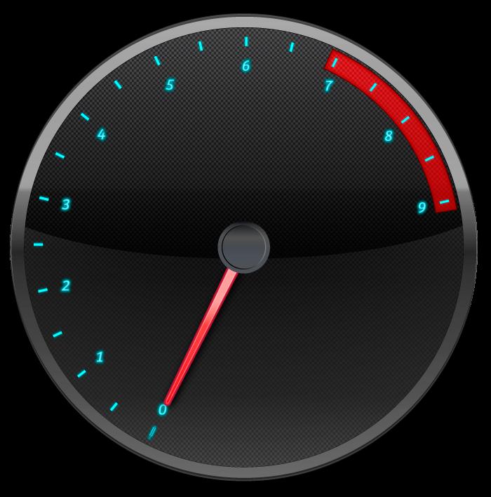 Tachometer design