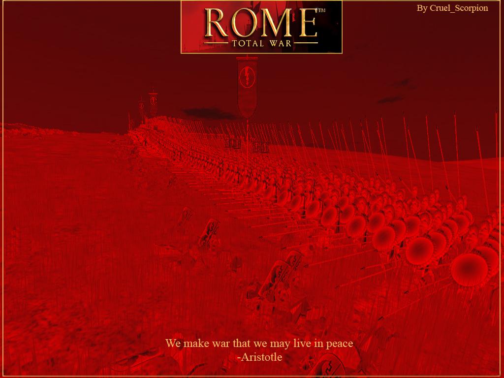 Rome Total War Wallpaper: Rome Total War Wallpaper By CruelScorp On DeviantArt