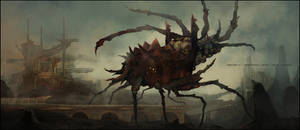 'Biomechanical visitor' by prokhoda