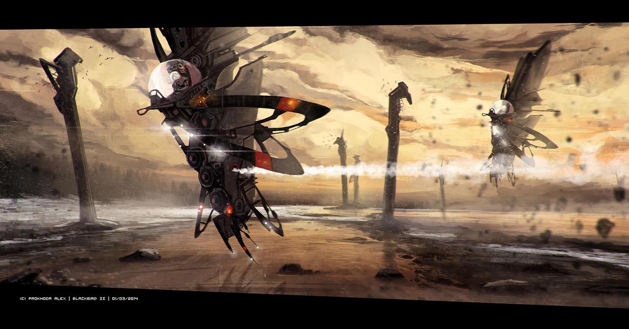 blackbird II by prokhoda