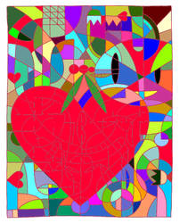 Stained Glass of Love
