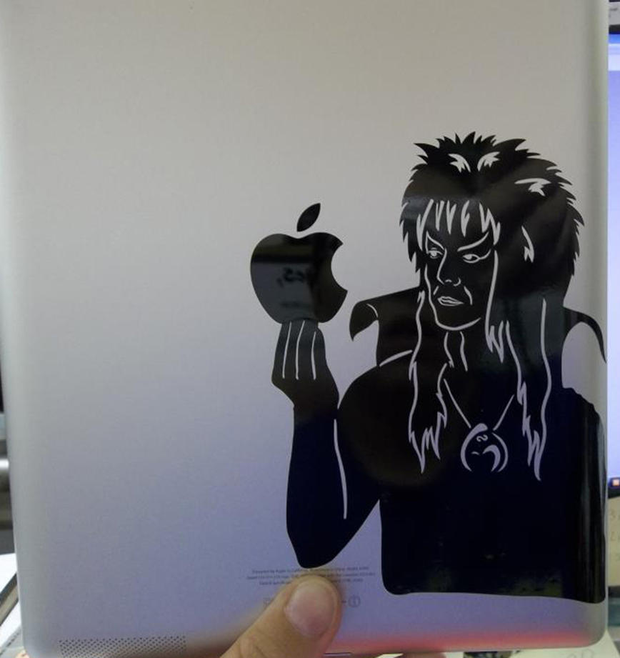 My Labyrinth Ipad decal by SomeShyGirl