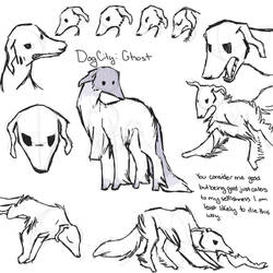 dogcity: ghost concept sketch page