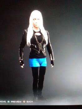 WWE 2k17 character creation