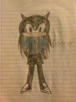 Destiny The Hedgehog
