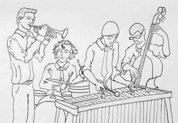 Red-Skunk Jipzee Swing Band by Fatal-Noogie