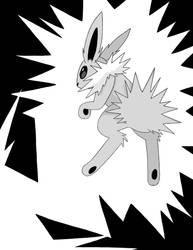 Jolteon Pokemon Zine Page by NozomiMomuchu