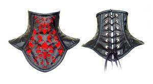 neck corset by crissycatt