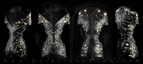Crysanthemum Corset by crissycatt