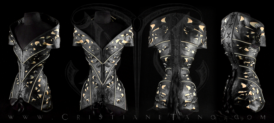 Crysanthemum Corset by crissycatt