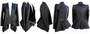 Leather Jacket by crissycatt