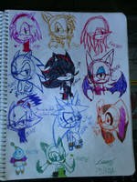 ramdom doodles XD by crystalthecat14