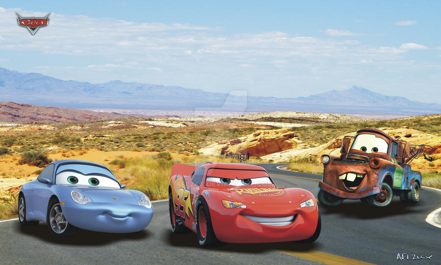 Cars - Disney - Wallpaper by AFL2kx on DeviantArt