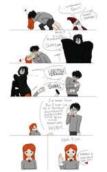 Harry Potter---In a Nutshell 3 by QuietLittleBlackbird