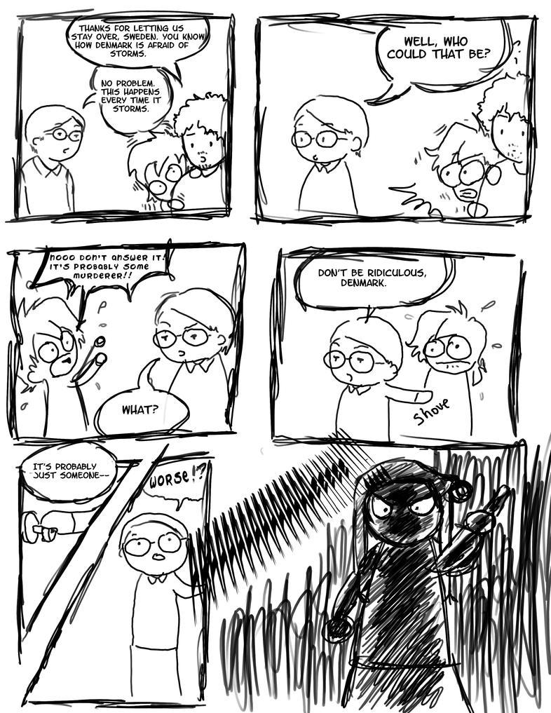 A dumb SatW fancomic by childofthorns