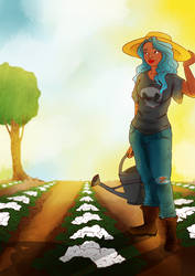 Farmer Suzy by VarencaFISH