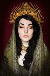 Mourning Saint by VarencaFISH