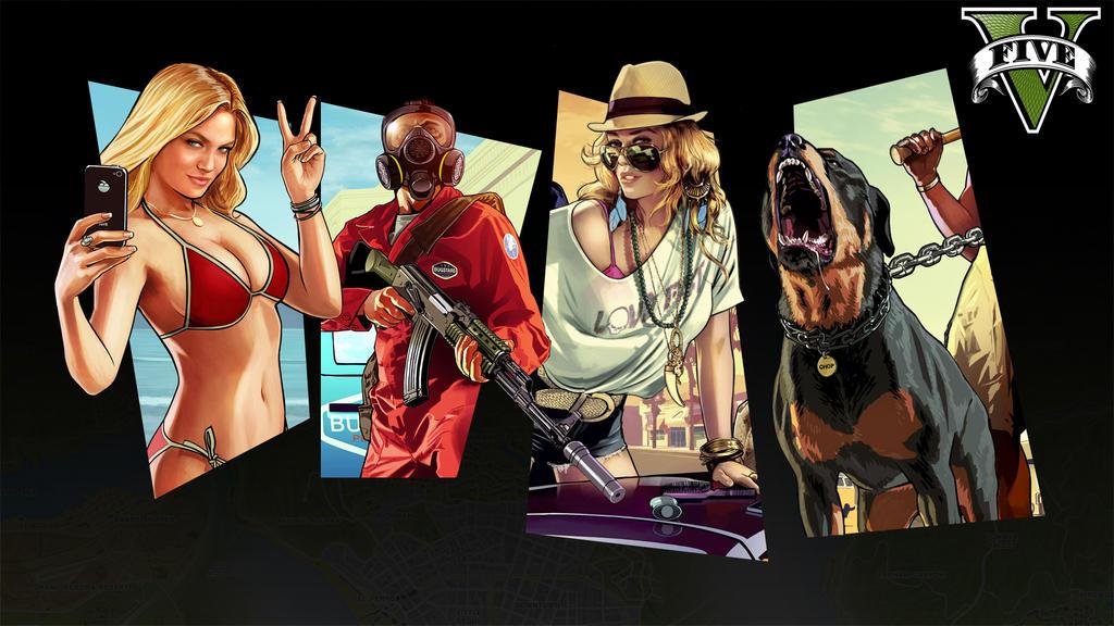 Grand Theft Auto V Wallpaper By Blackbyte223