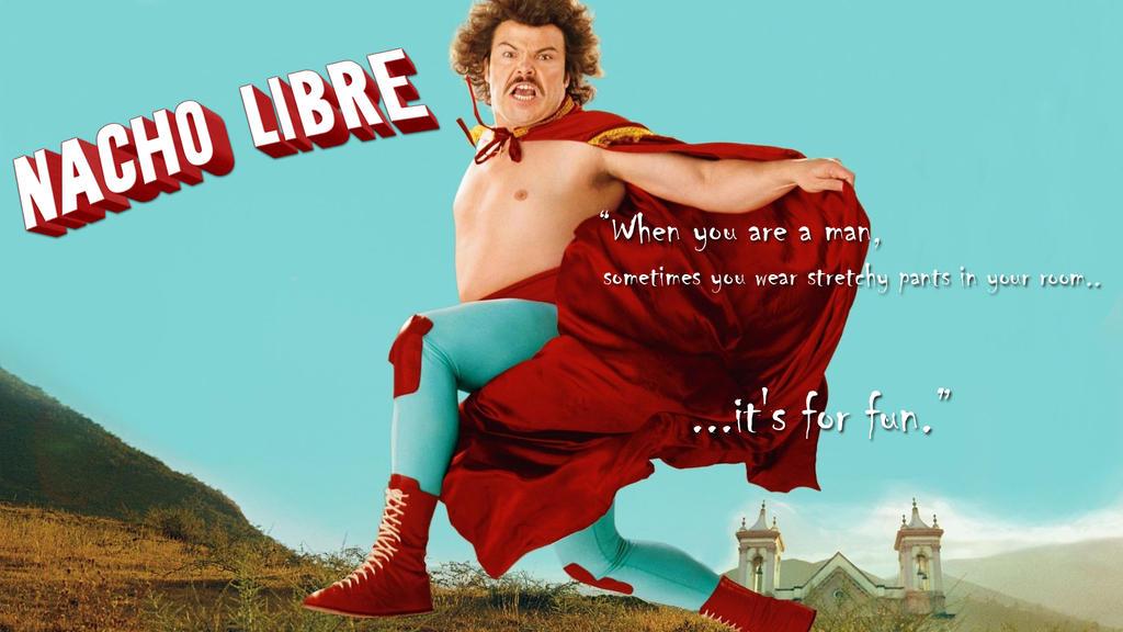 Nacho Libre by blackby...