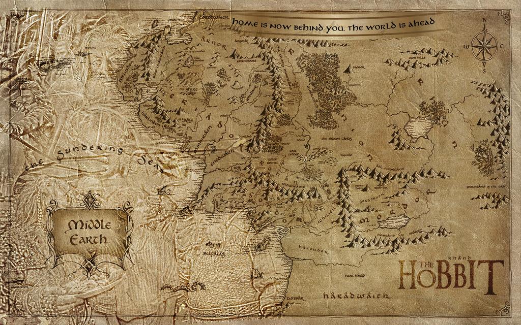 The Hobbit Wallpaper By Blackbyte223