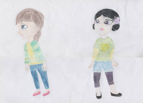 Blythe and Youngmee circa Season 3