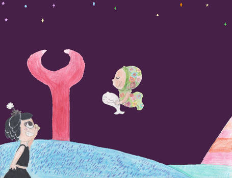 Hanazuki and Little Dreamer