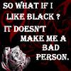 I Like Black by ValkeryMillenia
