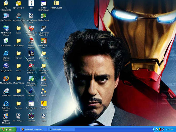 Tony Desktop by valdrianth