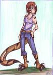 Little Raptor Girl Val