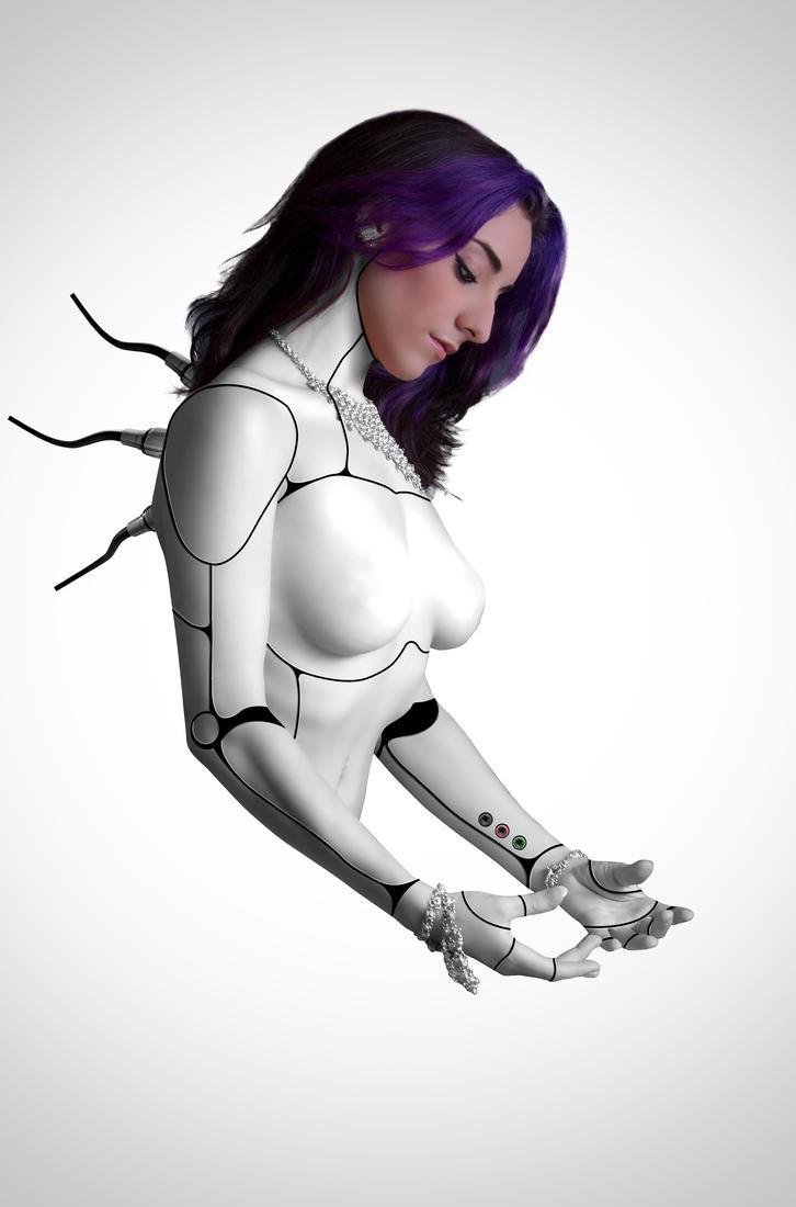 Female Cyborg 1st Stage by Enn-SRSBusiness